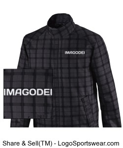 Locale Mens Lightweight City Plaid Jacket Design Zoom